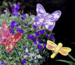 mini flutterbyz garden sculptures