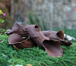 Drifter ceramic driftwood by JJ Potts garden sculptors